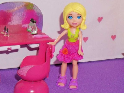 Como fazer cadeira para mini boneca (Polly, Princesas, Lalaloopsy, etc)