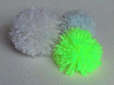 D.I.Y. como fazer pompom de  lã ou Linhas Passo a Passo