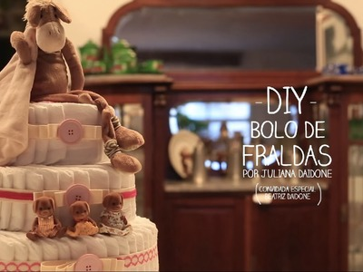 DIY Bolo de Fralda