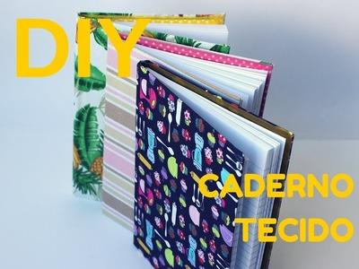 DIY Caderno de Tecido