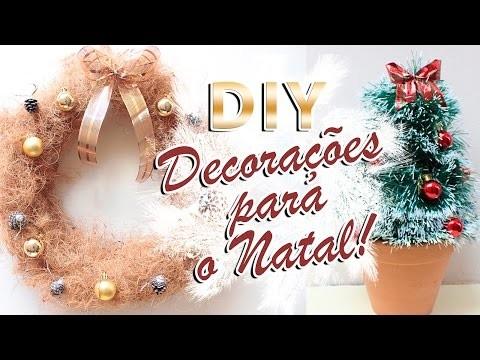 DIY Decorações para o Natal