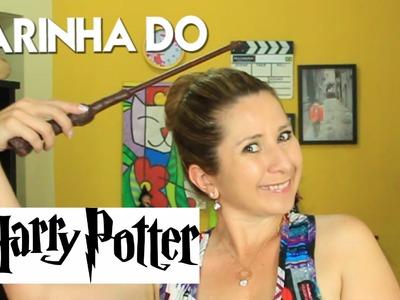 Diy Drika Valentim Como fazer varinha do Harry Potter