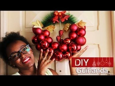 DIY Guirlanda com cabide | Especial Natal #2