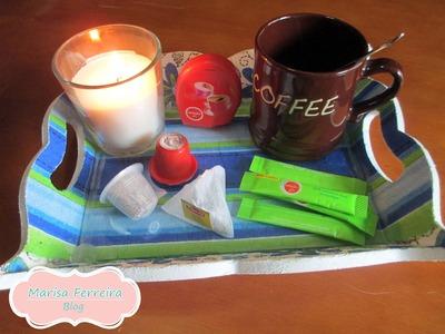 DIY | Tabuleiro de café ou chá
