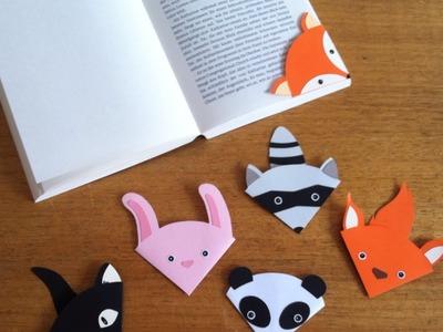 Faça Um Lindo Marcador de Páginas de Animais - Faça Você Mesmo Artesanato - Guidecentral