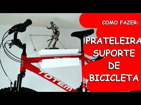 Prateleira Suporte de Bicileta - DIY | Na oficina - S01E08
