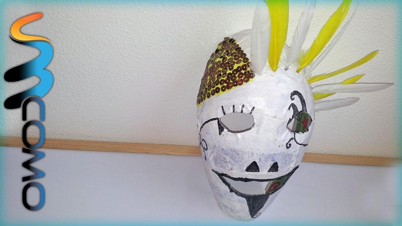 Como fazer uma Máscara de Carnaval