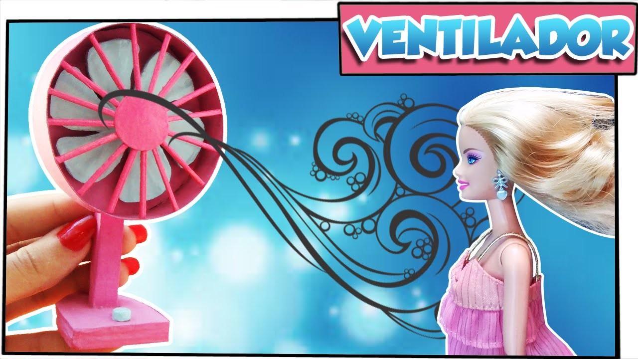 Como fazer: Ventilador para bonecas Barbie, Monster High, Ever A. H. entre outras!