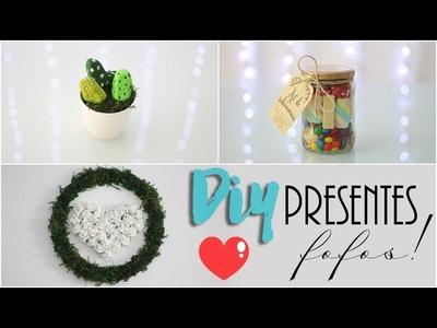 DIY: 3 presentes fáceis e fofos! - Especial dia das mães! ♥