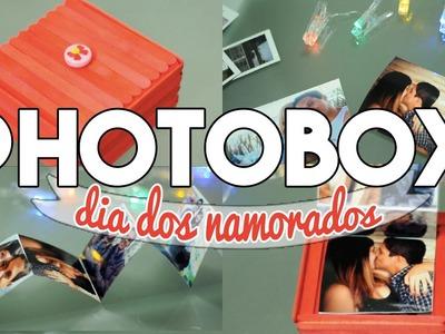 DIY :: PHOTOBOX - Presente para Namorado ❤ #diydoamor