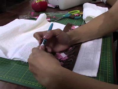 Mulher.com 30.04.2013 Camila Martins - Patchwork seminole toalha  Parte 2.2