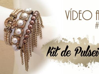 Passo a Passo #101:  Kit Pulseiras
