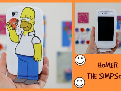 Capinha  Homer - The Simpsons - modelo para qualquer celular