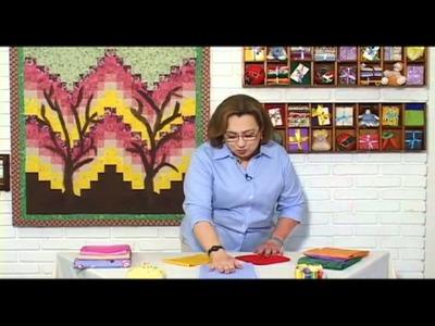 Combinando Cores e Tecidos - Video Aulas de Patchwork Prof. Elza Aidar