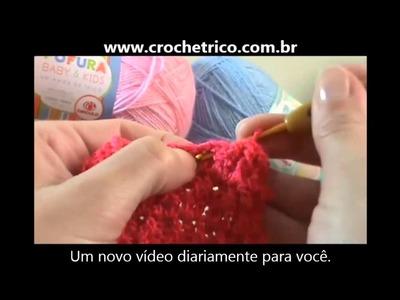 Crochê - Guia de Pontos - Aula 11 - Ponto Barra 3X3