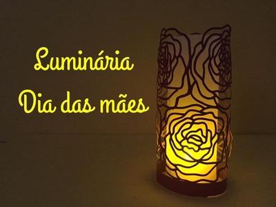 DIY | Como fazer luminária - Dia das mães