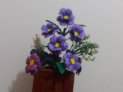 Flor  cajado de e.v.a