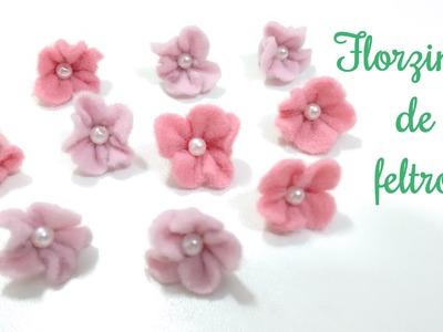 Florzinha de feltro - Passo a passo | Lisandra Monteiro