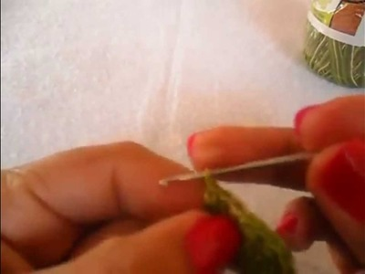 Jogo de Cozinha em Crochê: Flor e Folha Para Aplicação