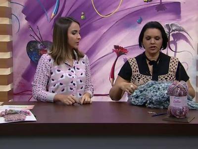 Mulher.com - 09.05.2016 -  Capuz em trico - Noemi Fonseca PT2