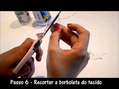 Passo a passo Borboleta - Petit Felt by Ane Sousa