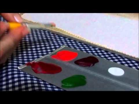 Pintura em Tecido - Iniciantes (Parte 3)