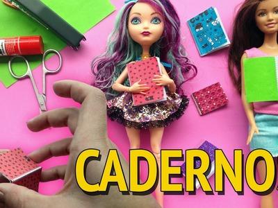 Como fazer Caderno para Barbie e outras Bonecas