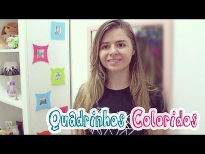 Diy: Quadrinhos coloridos - Decoração de quartos