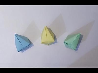 Como fazer um balão de festa junina (origami)