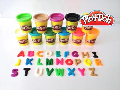Play-Doh Learning ABC Aprendendo o Alfabeto com Playdough  | ToysBR