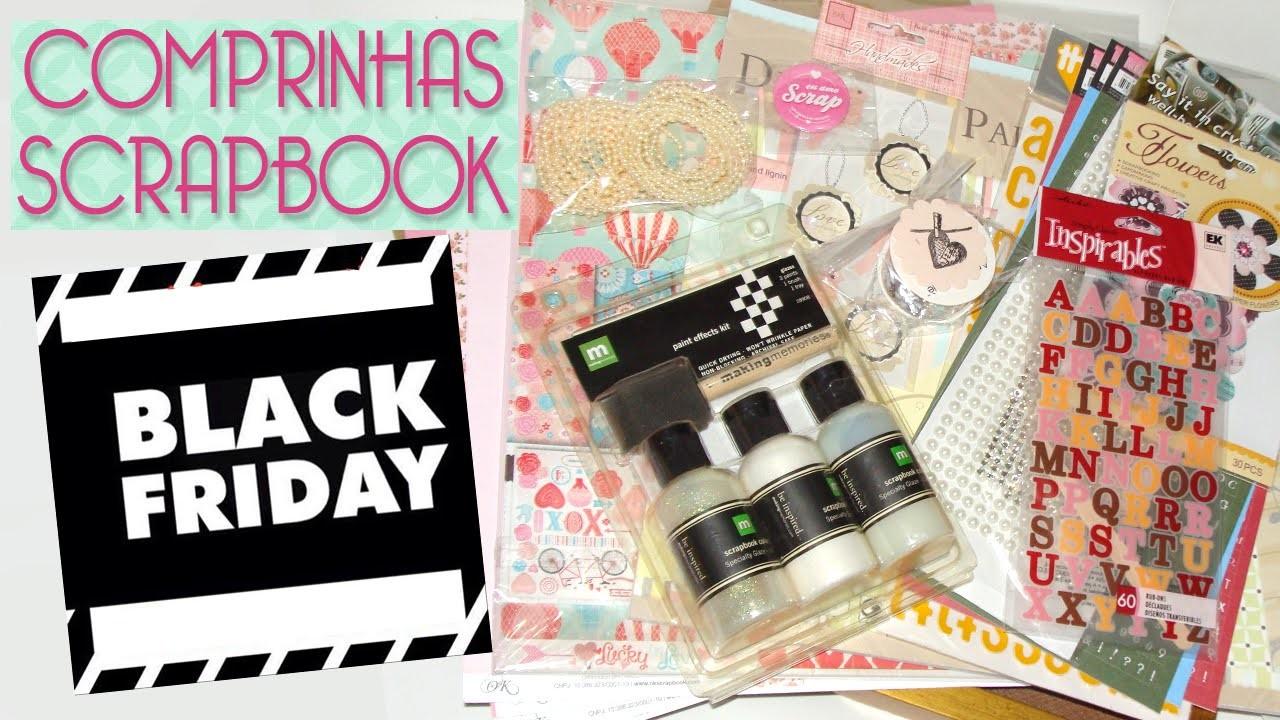 Black Friday Comprinhas Scrapbook - Scrapbook by Tamy