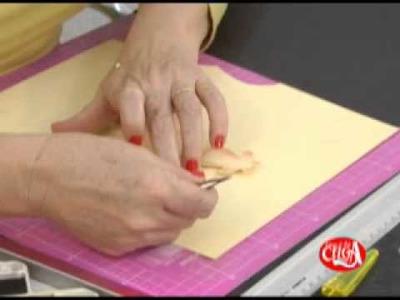 Como utilizar o chalk em scrapbook