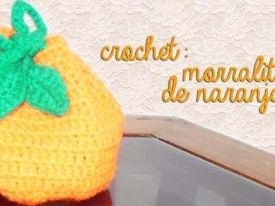 CROCHET: MORRALITO DE NARANJA ♥