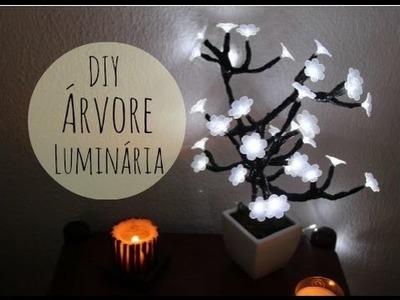 DIY - Árvore Luminária - Imaginarium - por Raquel Guimarães
