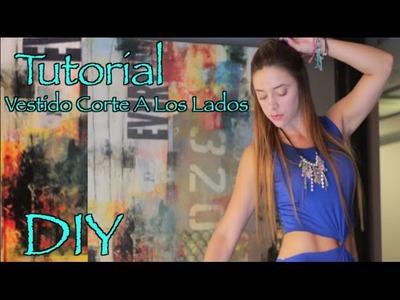 Tutorial- Vestido Corte a Los Lados (DIY)