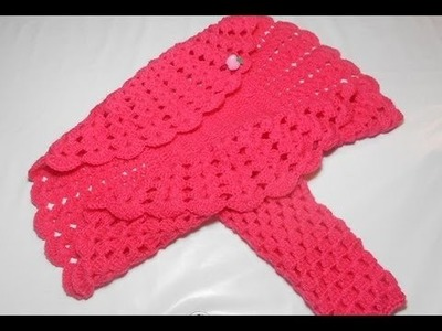 Bolero Croche Infantil manga - Crochet Bolero very easy - Ganchillo Bolero