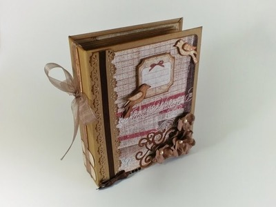 Scrapbook Album - French Vintage