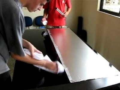 Giant Tissue Foil - Making Of - Part One