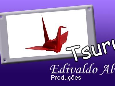Curso de Origami com Edivaldo Alves AULA 01 - Tsuru
