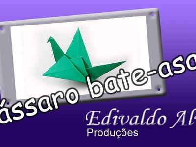Curso de Origami com Edivaldo Alves AULA 02 - Pássaro Bate-asas