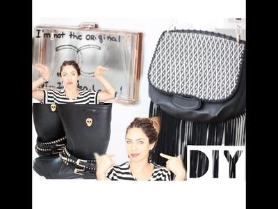DIY Customize sua galocha e bolsas