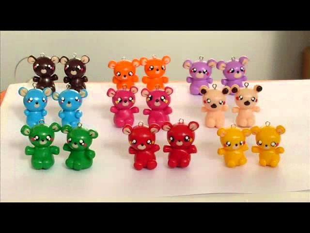 Handmade by Lucybel -  animais em fimo (polymer clay animals).wmv
