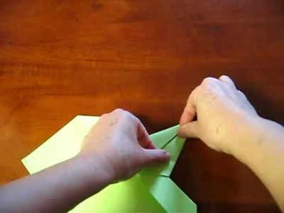 Origami - Cartão com grou (tsuru) - 1