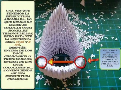 "Origami ""cisne-fénix"" fantástico (de papel)"