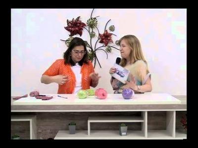 CRISTINA AMADURO 101012 Bolero de Crochê Sextavado P2