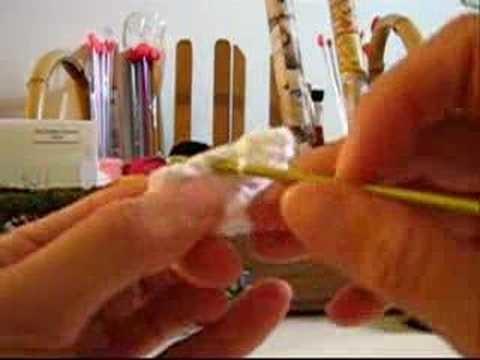 Crochê Tradicional - Flor - Modelo 002
