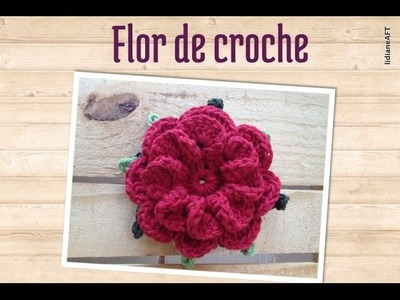 Flor de croche - LiiArt