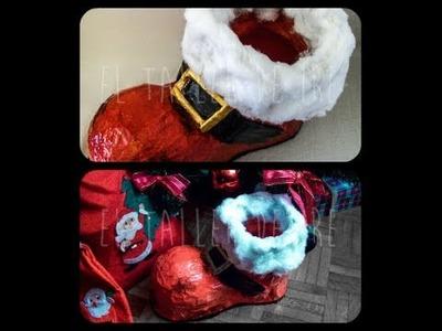 DIY: Bota de Papá Noel