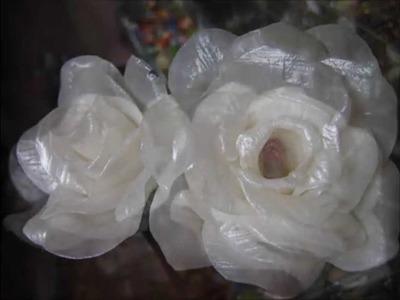 Rosas de sabonete