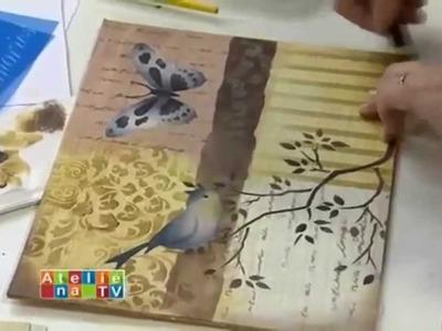 Stencil OPA - 23.04.15 - Mayumi Takushi - Pássaro Azul